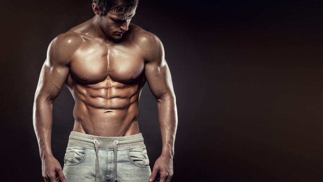 động tác đẩy bóng cho ngực và bụng