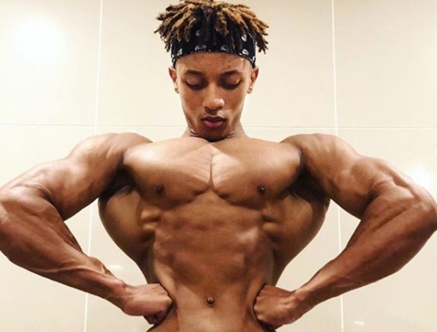 Teen bodybuilder's shoulders are twice the size… | Personal